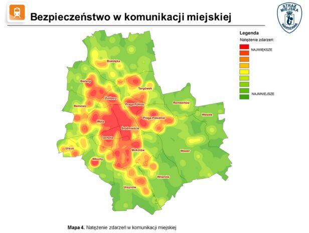 Zdarzenia w komunikacji miejskiej straż miejska