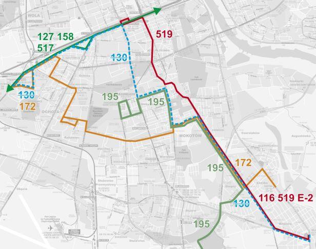 Linia 130 zostanie zlikwidowana ZTM