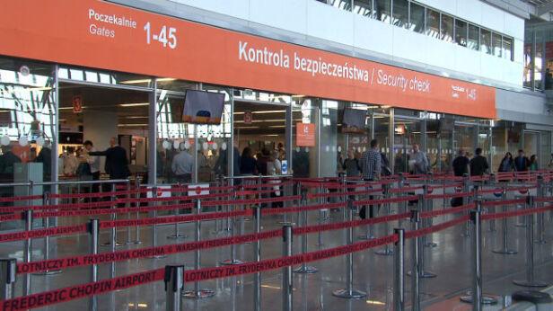 Lotnisko Chopina TVN24
