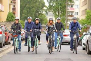 Sprawy służbowe na służbowych rowerach. Urzędnicy wyposażeni