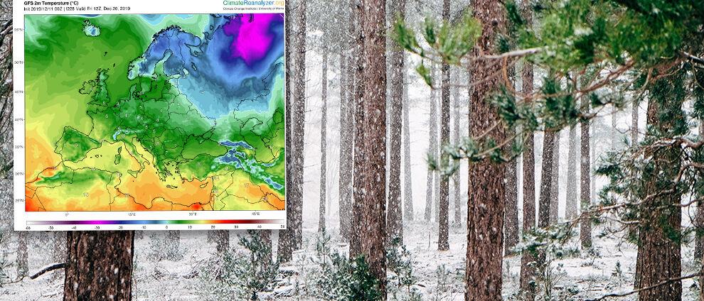 Jaka prognoza na święta? </br>Synoptyk sprawdza, czy jest szansa na śnieg