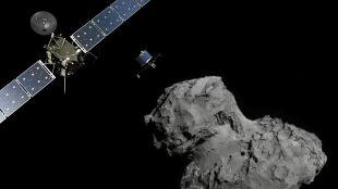 Świętowanie w wielkim stylu. Sonda Rosetta i kometa od roku razem