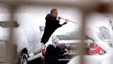 Śnieg w Bośni i Hercegowinie (PAP/EPA/FEHIM DEMIR)