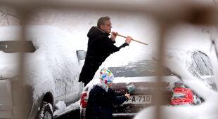 Powrót śniegu do Europy (PAP/EPA)