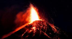 Erupcja wulkanu w Gwatemali (PAP/EPA/ESTEBAN BIBA)