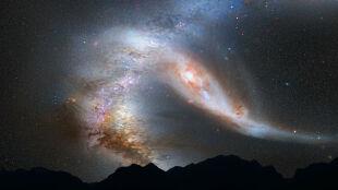 Galaktyka Andromedy i nasza Droga Mleczna na kursie kolizyjnym. Spotkanie szybciej niż sądzono